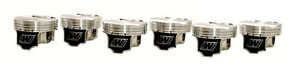 WISECO 86.5MM FORGED PISTONS FOR NISSAN SKYLINE GTR GT-R RB26 RB26DETT