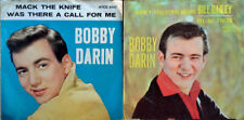 BOBBY DARIN - MACK THE KNIFE + BILL BAILEY- ATCO - (2) 45'S WITH PICTURE SLEEVES