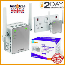 Wireless WiFi Signal Range Booster Network Extender Amplifier Internet Repeater