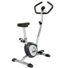 Lonsdale Indoor Exercise Bike Cardio Trainer with Dual Digital Display Fitness