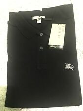NEW NWT Burberry Brit Black Polo Shirt Large L