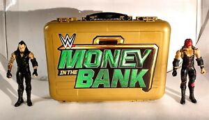 WWE Gold Money In The Bank Collector Action Figure Carry Case by Mattel 2017