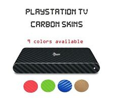 Playstation TV Ps PSTV Vita - Carbon Skin Wrap Cover Decal Sticker - 9 Colors