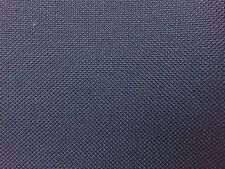Navy Blue Marine PVC Vinyl Canvas Waterproof Upholstery Outdoor Fabric - BTY