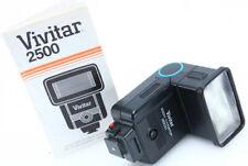 Vivitar Zoom Thyristor 2500 Shoe Mount Flash bounce w/manual tested 387996