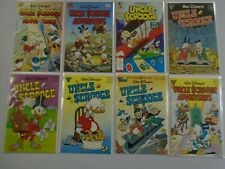 Uncle Scrooge comic lot 8 different issues 8.0 VF