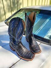 Aligator Cowboy Boots size 10