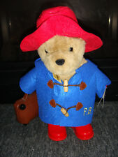 """14"""" Classic Paddington Bear With Boots & Suitcase - New With Tags"""