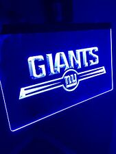 NFL New York Giants LED Neon Light Sign for Game Room,Office,Bar,Man Cave.