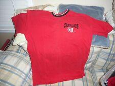 Hickory Crawdads red crewshirt jersey sz L  - DSCN1309