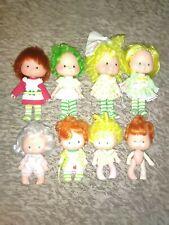 Vintage Lot of 8 Strawberry Shortcake Dolls