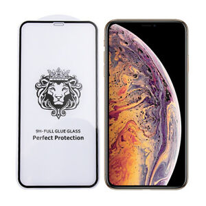 iPhone XS Max 10D Premium Tempered Glass Screen Protector