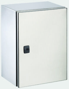 Electrical Enclosure 600h x 600w x 200d IP66 316 Stainless Steel