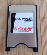 Sandisk Compact Flash Adapter Pc PCMCIA ATA to Compactflash Reader Writer
