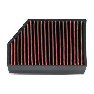 Fit 05-18 VW Jetta/GTI/Passat Audi A3/Q3/TT Drop-In Panel Cabin Air Filter Red
