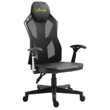 High Back Racing Gaming Chair Ergonomic Office Seat Swivel Computer Desk Seat w/