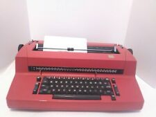 Vintage IBM Selectric II Electric Typewriter RED Tested Fast Shipping