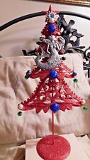 Mermaid Christmas Tree. Christmas by the Ocean themed Mermaids Tree Topper