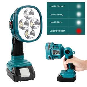 Akku-Lampe Worklight Arbeitsleuchte LED Strahler Für Bosch 18 V Li-Ion Batterie