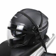 Motorcycle Helmet Mesh Net Protective Gears Holder Organizer Luggage Hooks Moto