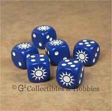 NEW 6 Chinese Kuomintang Star Dice Set 16mm RPG Game D6 WWII China World War 2