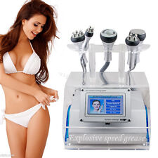 5 in 1 RF Radio Frequency Ultrasound Vacuum Cavitation Slimming Fat Burning USA!