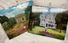 Lot of 2 American Girl Doll Kirsten 1854 Samantha 1904 Scenes and Settings Book
