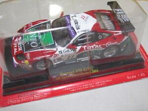 Ferrari 575 GTC #11 24h Spa-Francorchamps 2004 IXO 1/43 Scale