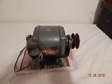 Delco 1/4 hp electric motor A8270CC 1725 Rpm Good used 115V