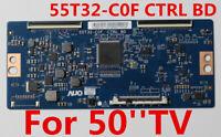 Original T-con Board 55T32-C0F CTRL BD For TV 50''