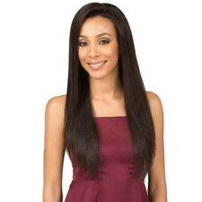 """BOBBI BOSS 5""""X 3"""" HAND-TIED SWISS HUMAN HAIR LACE FRONT WIG - MHLF305 CHARIS"""