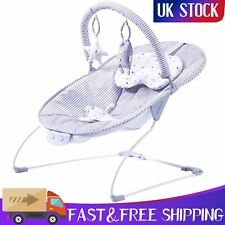 Baby Cozy Bouncer Chair Cheerful Toys Vibration Unisex Boy Girl Seater Newborn