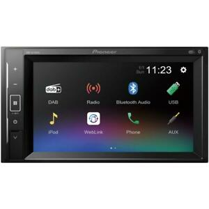 "Pioneer DMH-A240DAB 6.2"" Double Din Bluetooth USB DAB Digital Radio Car Stereo"