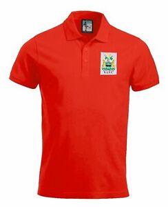 Rotherham United 1970s Retro Football Polo Embroidered Crest S-XXXL