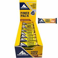 Multipower Power Pack 24St.á 35g Eiweiß Protein Riegel Kohlenhydrate Fitness Bar