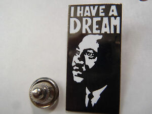 PIN'S I HAVE A DREAM MARTIN LUTHER KING HISTOIRE ETAS UNIS