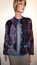 Koos Van Den Akker Reversible Jacket Gorgeous! Authentic! High End! Mint!
