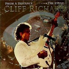 CLIFF RICHARD 'FROM A DISTANCE THE EVENT' UK DOUBLE LP
