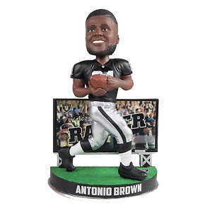 Anotion Brown Oakland Raiders Billboard Special Edition Bobblehead NFL
