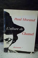 Paul Morand. L'ALLURE DE CHANEL  ( Mode, Haute-couture, biographie, mémoires )