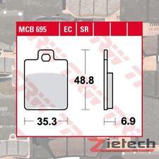 Freno a disco TRW MCB827 Kit pastiglie freno
