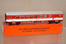 Kleinbahn 378 Obb öbb Crema Rojo BD 2º CLASE SUBURBAN freno Equipaje Coach 011-8