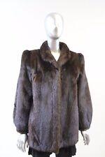 Mahogany Mink Fur Jacket Size M
