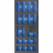 """Werkstattwageneinlage 1/3 leer für 12,5mm 1/2"""" Steckschlüssel-Satz tief Art.4130"""