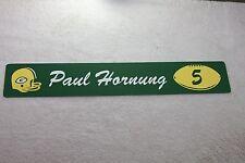 GREEN BAY PACKERS Vintage Locker Room Sign Paul Hornung Reproduction Lombardi