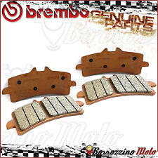 4 FRONT BRAKE PADS BREMBO GENUINE PARTS SINTERED 07BB3793 DUCATI 848 EVO 2012