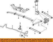 GM OEM Rear Suspension-Control Arm 10242417