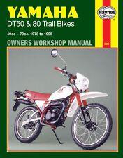 manuals handbooks dt yamaha motorcycle manuals literature ebay rh ebay ie 1987 Yamaha DT 50 Honda 125 ATV