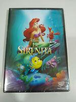La Sirenetta Walt Disney - DVD Regione 2 Spagnolo Inglese Portuguese Latino