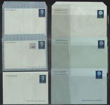NETHERLANDS, 1949-64. Aerogramme  H&G 1//13 (7),  Mint
